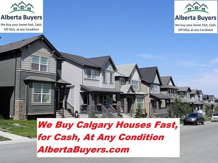 We Buy Calgary Houses Fast!