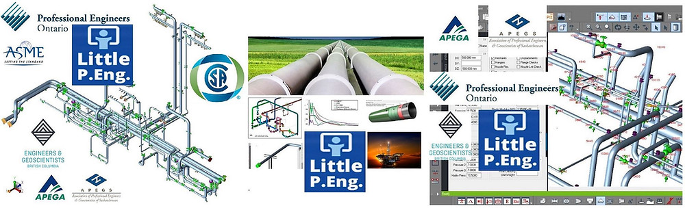 Affordable Pipe Stress Analysis Services Outsourcing Company across Canada, by Meena Rezkallah, P.Eng.