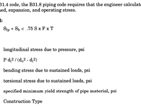 1.5.7 B31.8 Gas Transmission and Distribution Piping Code