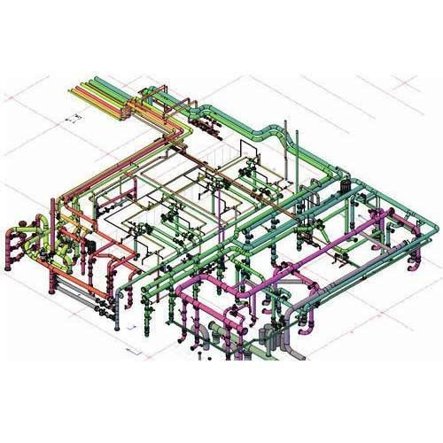 Application of Computer-Aided Design to Piping Layout