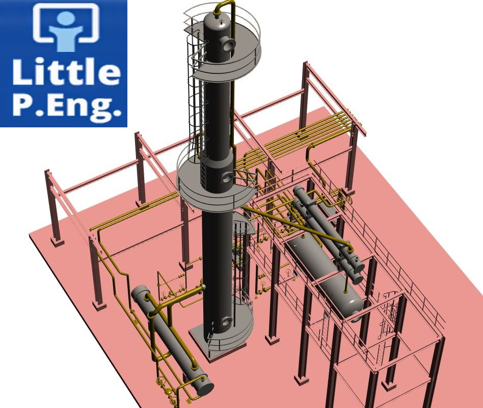CAESAR II Pipe Stress Analysis Services by meena rezkallah, p.eng., the best piping stress engineer & professional engineer in calgary alberta canada. pipe stress analysis services. Engineering firm  company