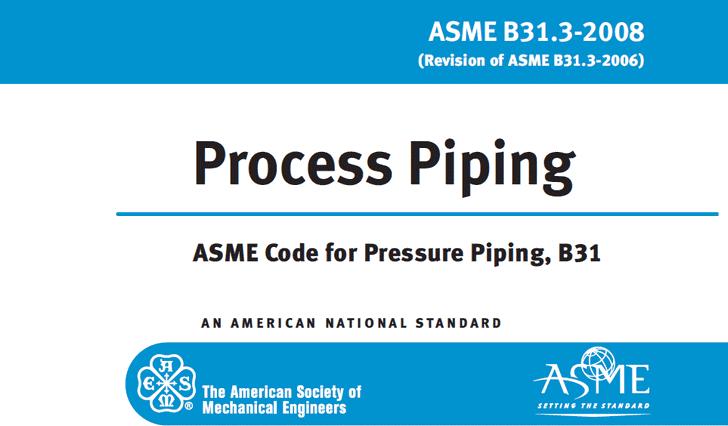 ASME B31.3 Code Organization