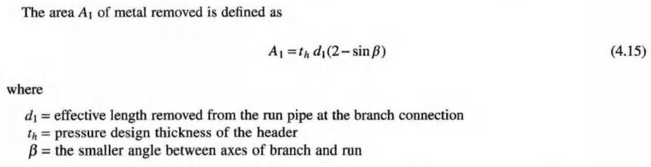 asme b31.3 welded branch design