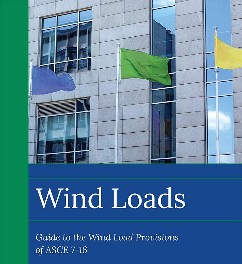 Wind load calculation as per ASCE 7-16 for piping stress analysis and structural design