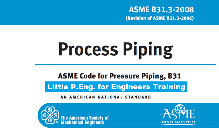 ASME B31.3 Listed Components