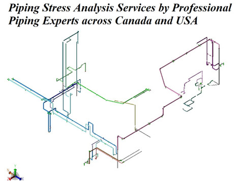 Piping Stress Analysis Services by Professional Piping Experts across Canada and USA