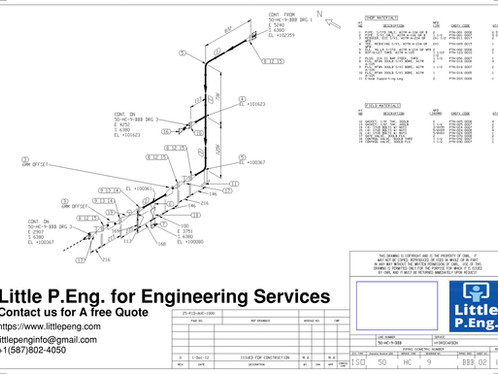 Piping Engineering Design Services Across Canada and USA