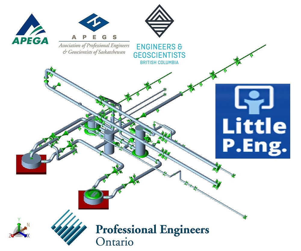 Pipe Stress Analysis across Canada and USA by Canadian Professional Piping Engineers