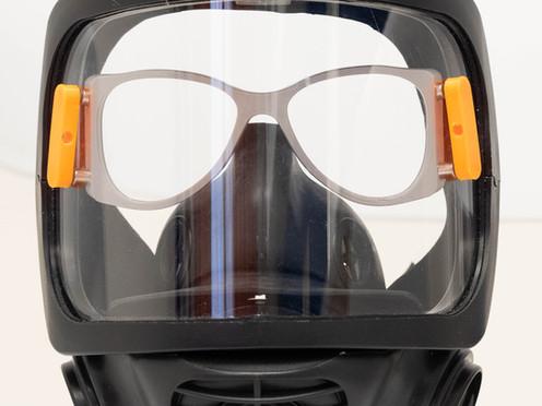Pomáháme zdravotníkům - brýle CoVidi do ochranné masky.
