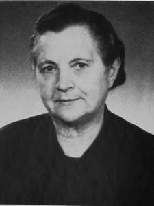 Hubertine Kipping (geb. Cizek) - Jahr 1964