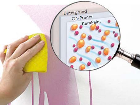 ProfiTec präsentiert KeraPaint - Hochleistungsinnenfarben
