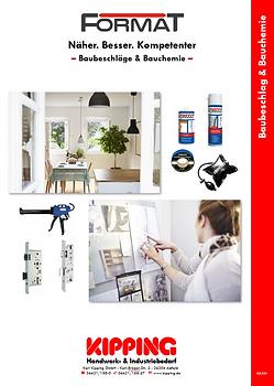 Kipping Katalog Format Baubeschläge und Bauchemie