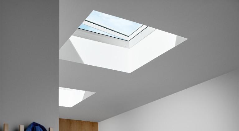 "VELUX INTEGRA Flachdach-Fenster ""KUPPEL"""