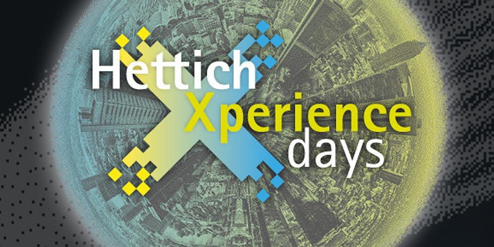 Hettich Xperience Days vom 15. bis 17. Juni (Online)