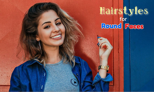 Five Easy Hairstyles To Slim Down Your Round Face