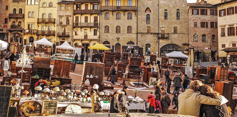 The antiques fair