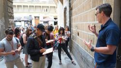 Art History Students Visiting Florence