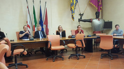 Engineering Students with the Arezzo Town Council