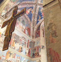Fresco series by Piero della Francesca