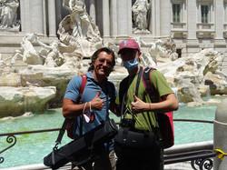 Prof Duclaux & Cameraman Max
