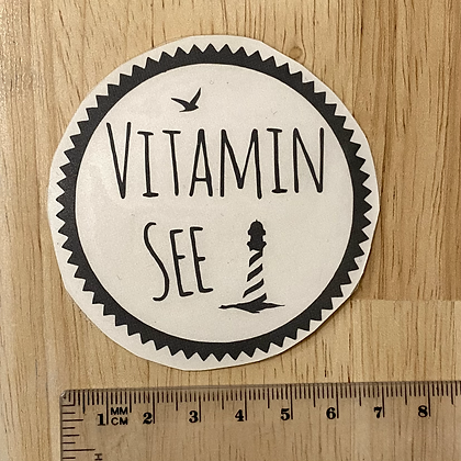 """""""VitaminSEE"""", Sticker/Aufkleber für Abklebetechnik"""