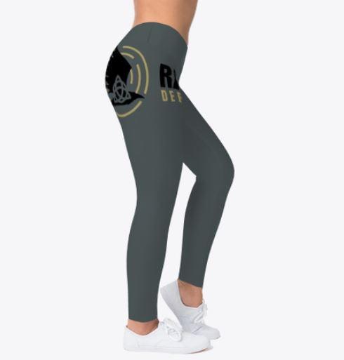 Left-side Logo Leggings