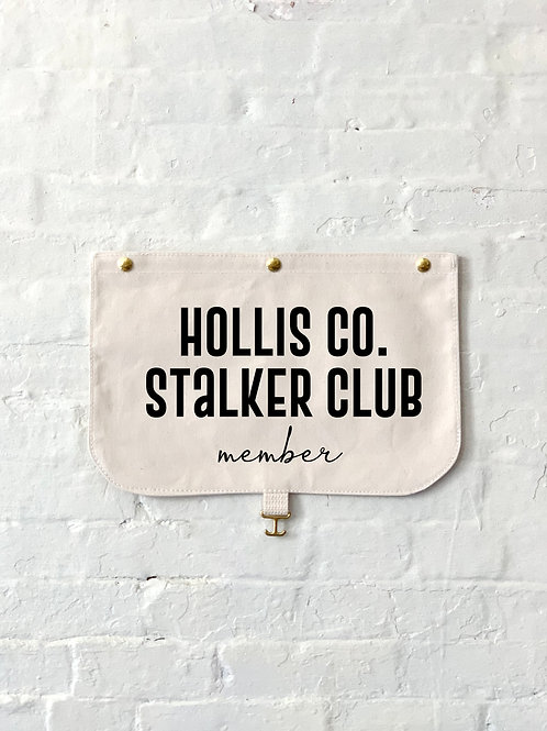Hollis Co. Stalker Club Member Flap