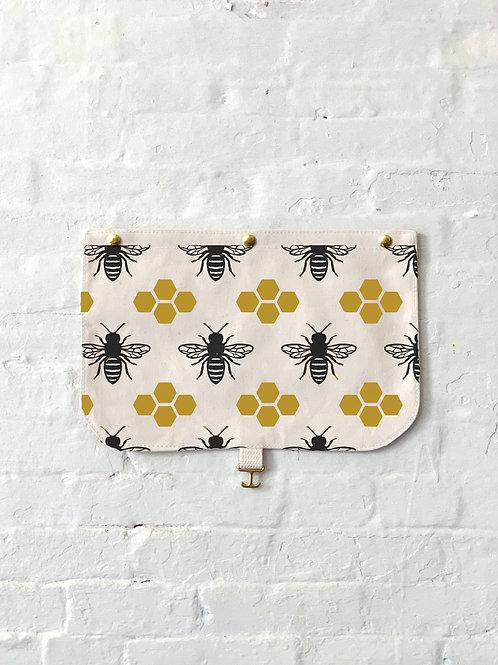 Bees + Honeycomb Flap