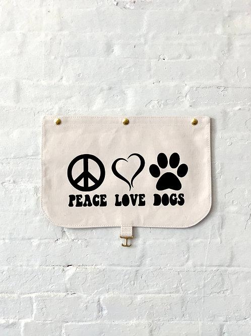Peace, Love, Dogs Flap