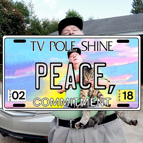 TV Pole Shine: Peace, Commitment (CD)