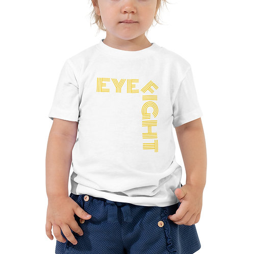 Toddler Short Sleeve Eye Fight Tee