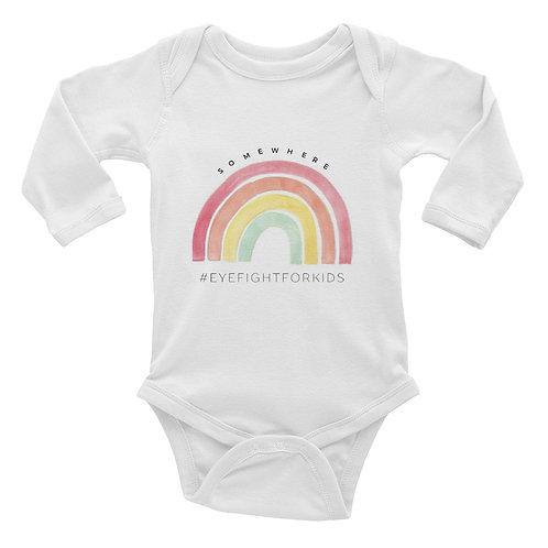 Long Sleeve Rainbow Onesie