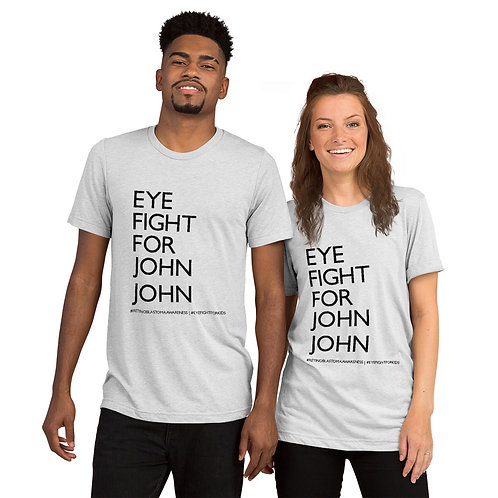 Eye Fight For John John - Short sleeve t-shirt