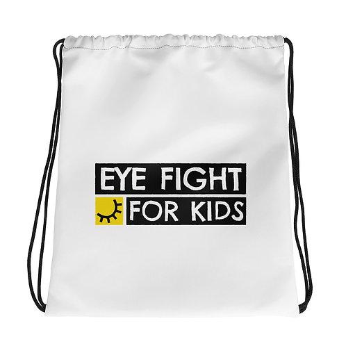 Eye Fight for Kids Drawstring Bag