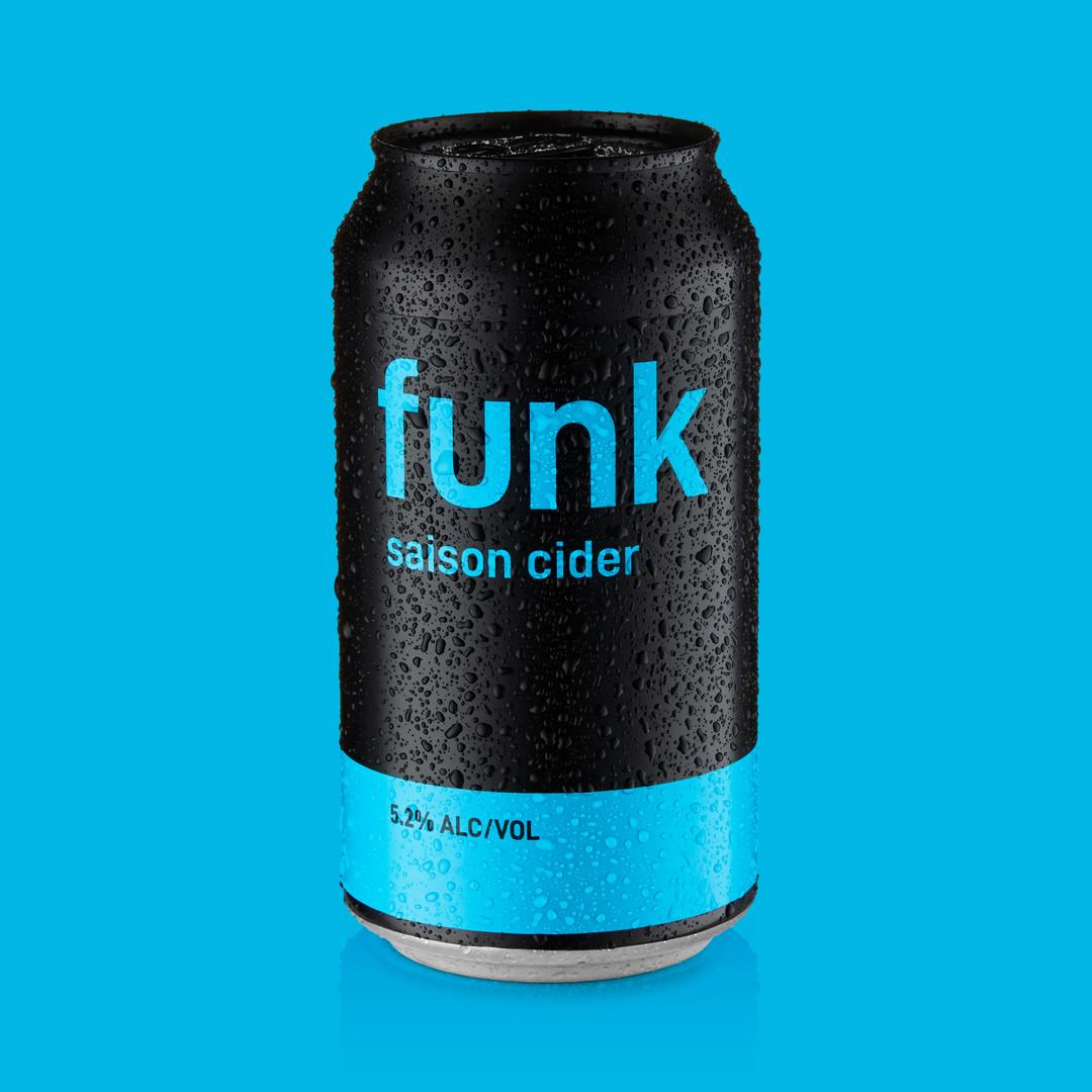 saison cider - funk cider