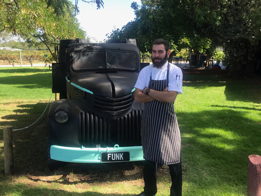 meet Cole Hall - the head chef at funk 2.0