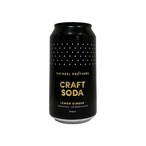 Craft Soda - Lemon Ginger