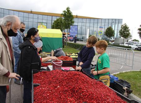 Ежегодная сельскохозяйственная выставка-ярмарка «Агрорусь» открылась в Санкт-Петербурге