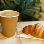 Latte Macchiato & Croissant Pur Beurre
