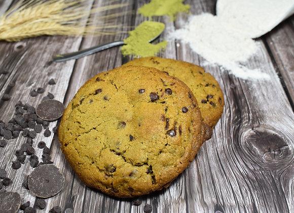 Cookie Matcha & Pépites de Chocolat Noir