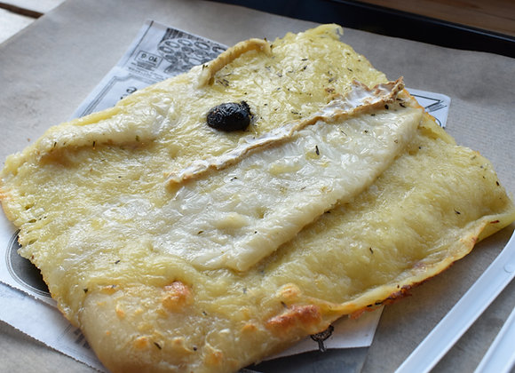 Pizza Garnie - Chèvre & Base Crème Fraîche