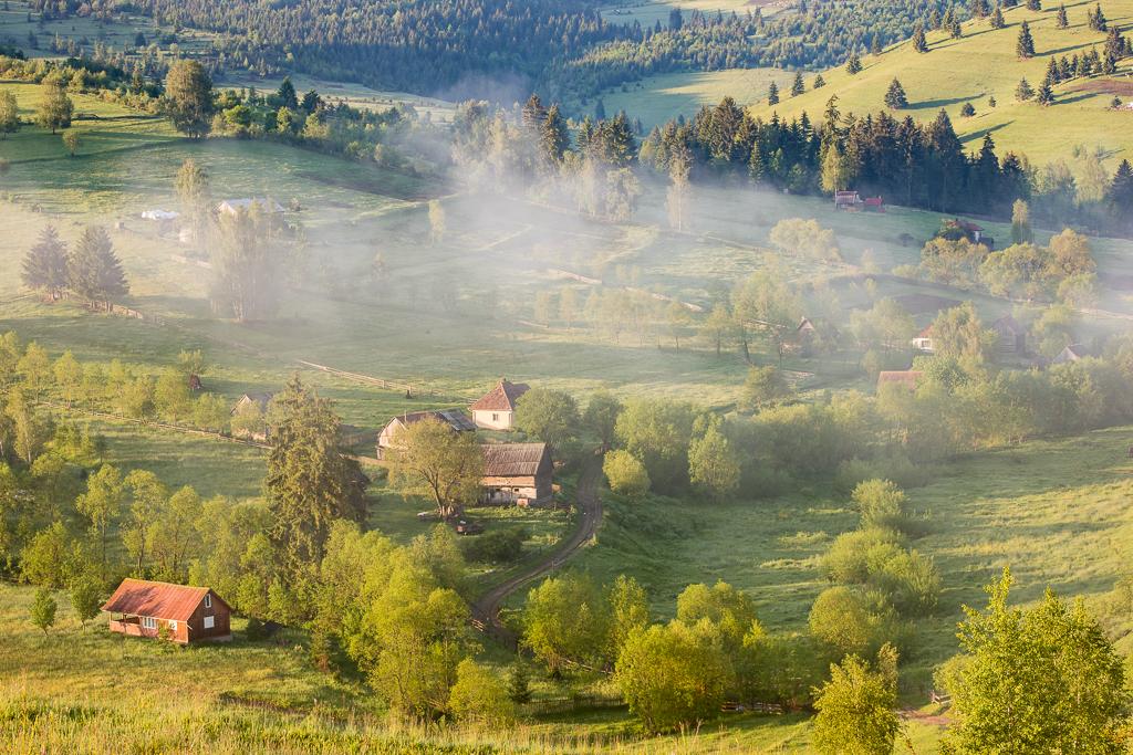 Rumänskt landskap