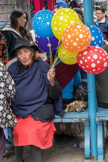 Pujili marknad, Ecuador