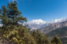 Berg i Nepal