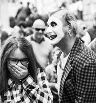 Clown, Florens, Italien