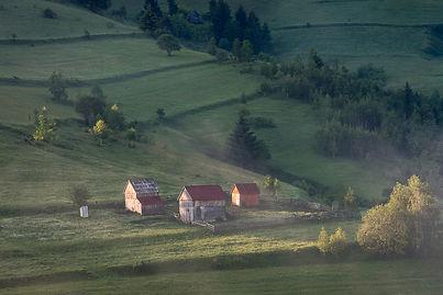 Gård i Transylvanien