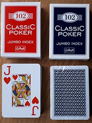 Kortlek med stora symboler 2-pack