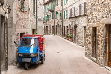 Abbadia San Salvatore, Italien
