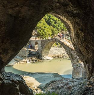 Osmansk bro Permet, Albanien