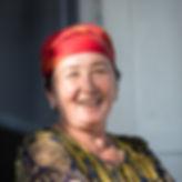 Kvinna i Kirgizistan